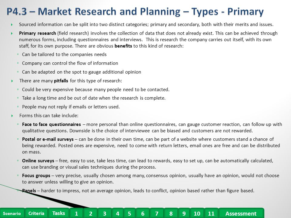 primary research types There are different types of primary data and they are used according to primary research questionnaire research applications research studies types of research.