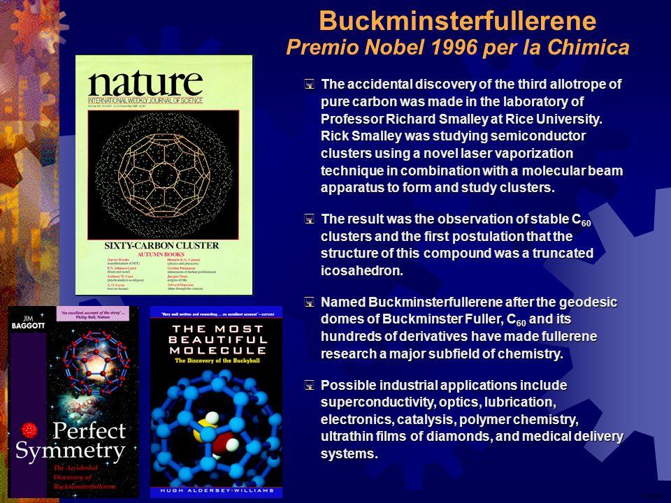 Buckminsterfullerene Premio Nobel 1996 per la Chimica