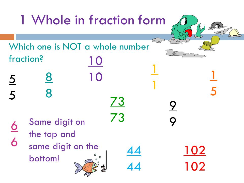 Fractions Unit By Miss O.. - ppt video online download