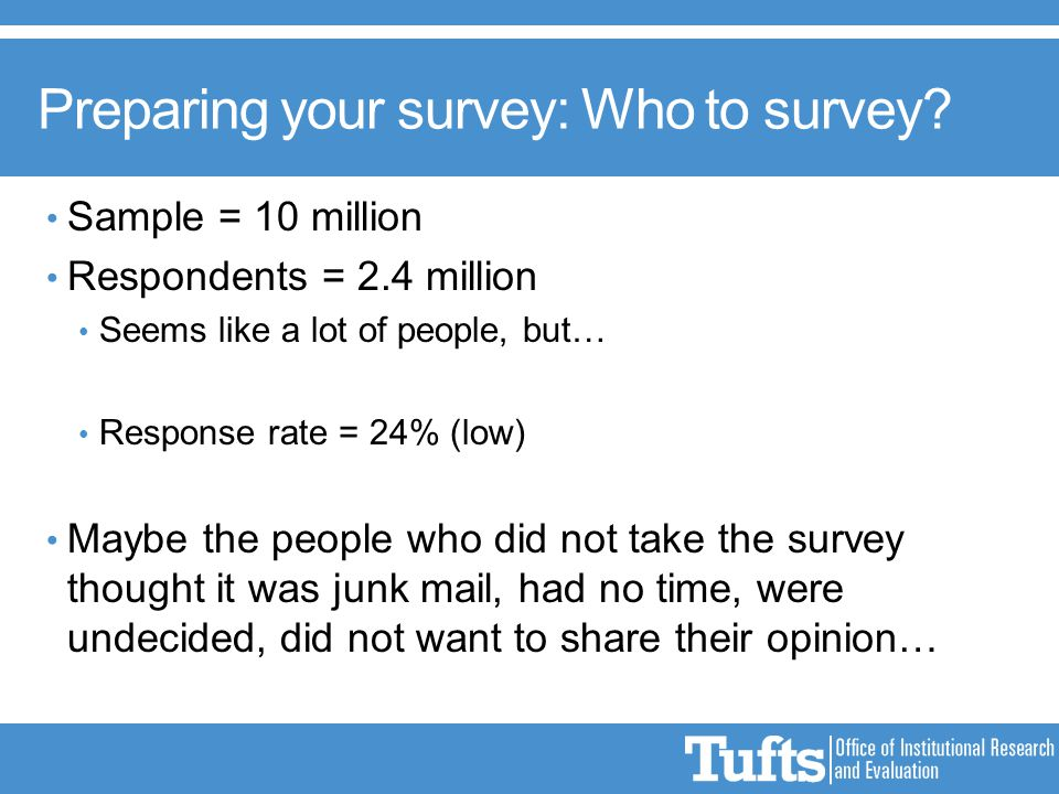 how to get people to respond to your survey