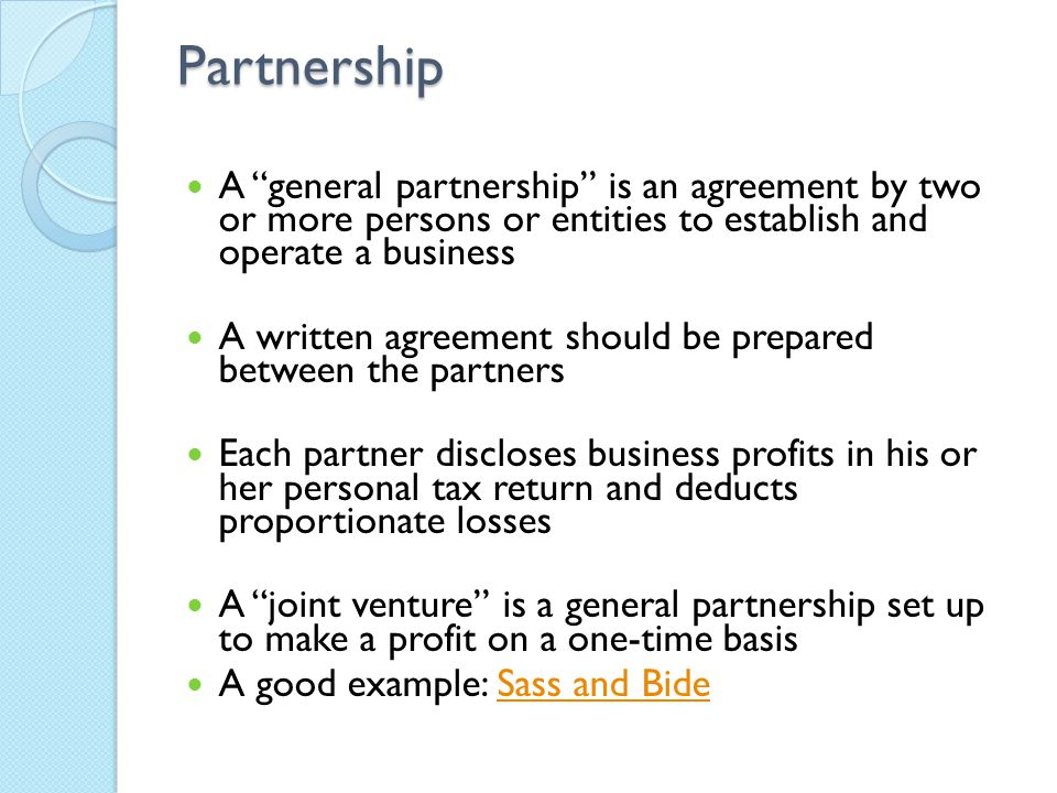 how to set up a partnership business in australia