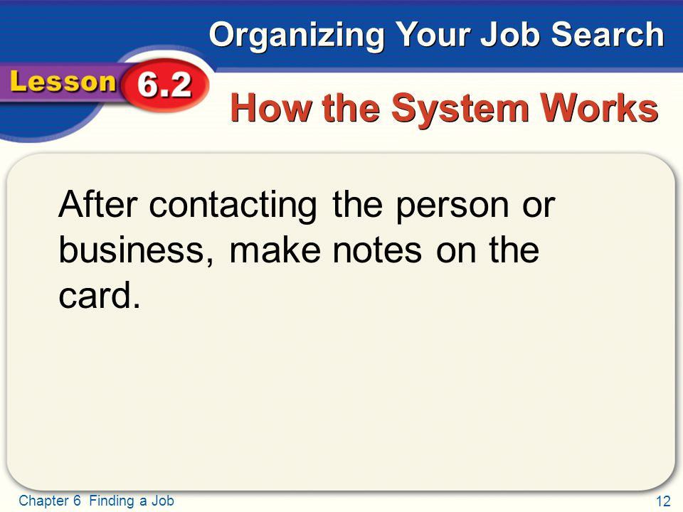 Organizing Your Job Search - ppt download