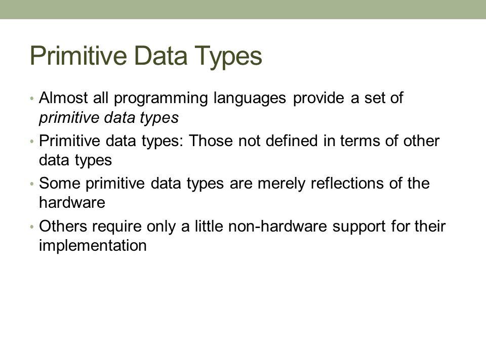 types of programming languages pdf