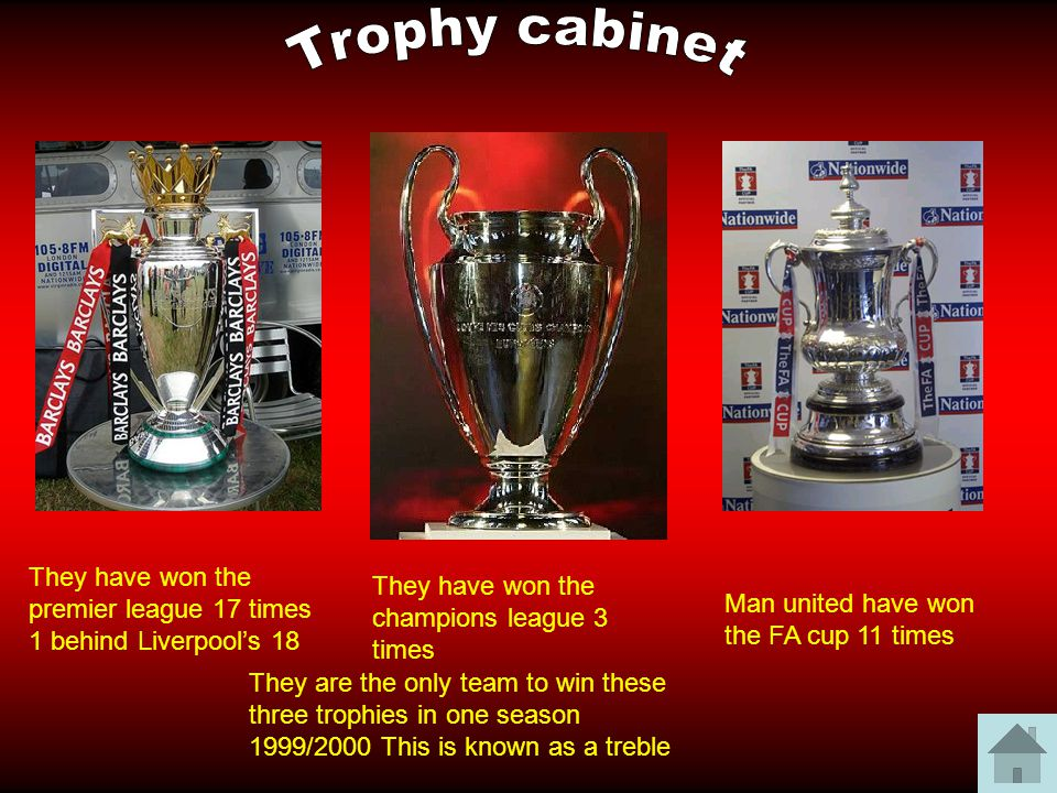 The theatre of dreams ppt video online download for Premier league table 99 2000