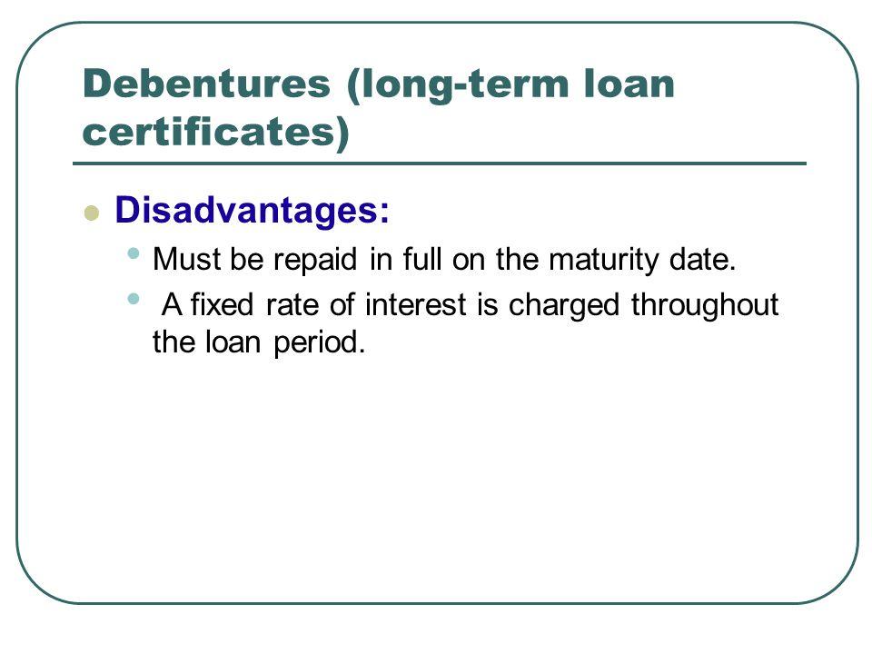 Loan maturity date in Australia