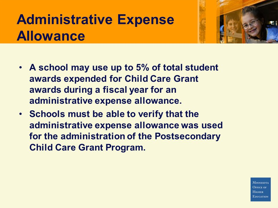 Administrative Expense Allowance