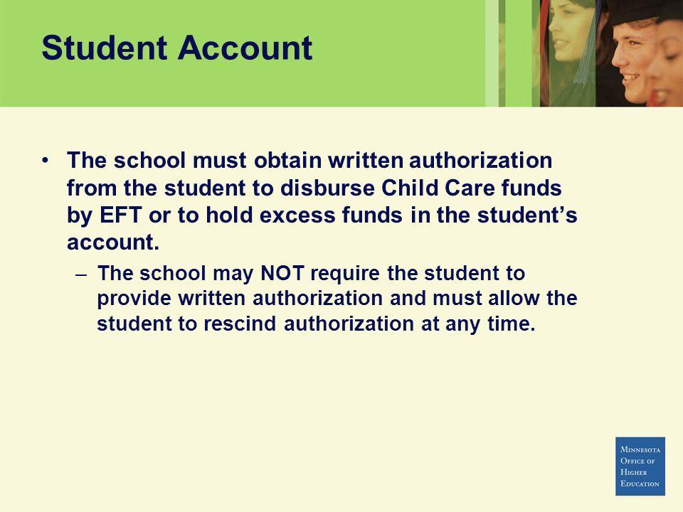 Student Account