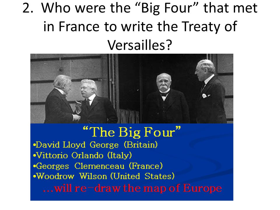 the responsibilities set for germany by the treaty of versailles The treaty of versailles was the peace settlement signed after world war one  had ended in 1918 and in  germany had to admit full responsibility for starting  the war  a league of nations was set up to keep world peace.