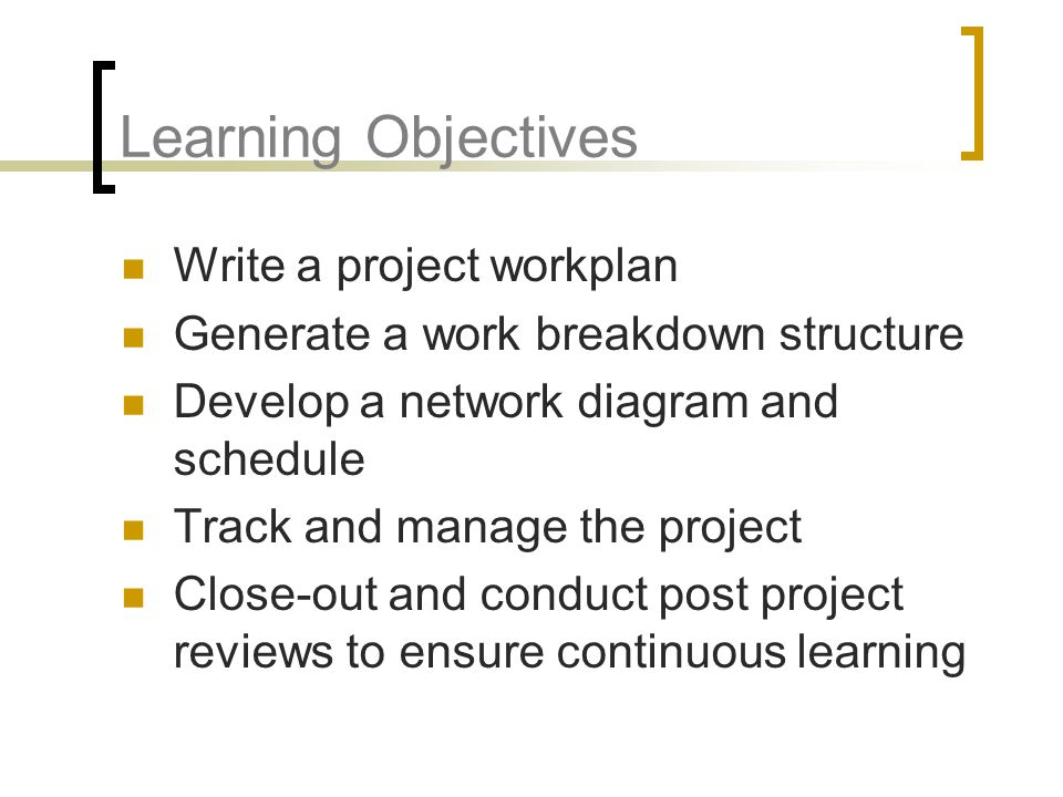 """how to write objectives for a project When you learn how to set objectives, you will create great projects  a title """"the  smart way to write management's goals and objectives."""