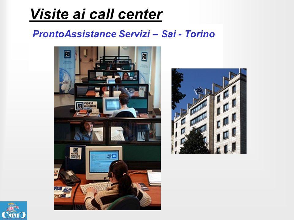 Visite ai call center ProntoAssistance Servizi – Sai - Torino
