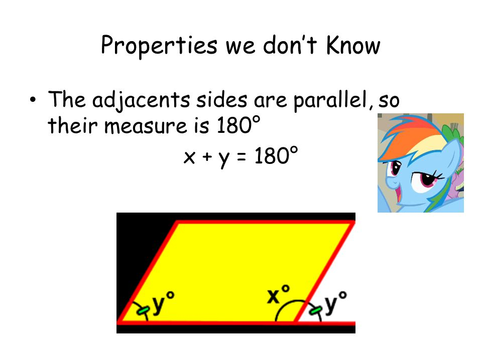Properties we don't Know