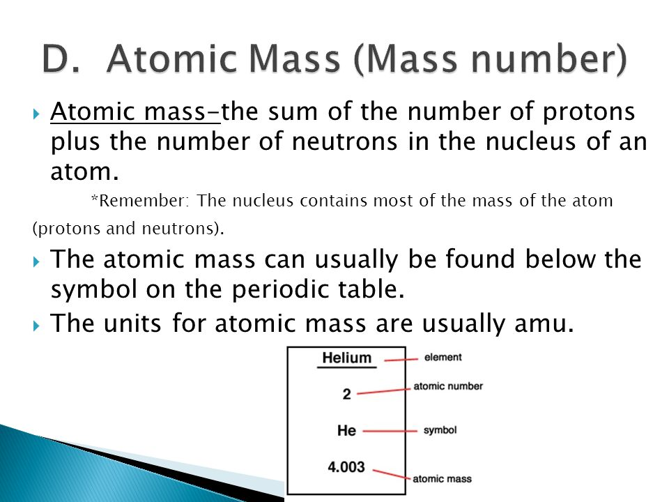 Ch 17 properties of atoms and the periodic table ppt video 11 d urtaz Choice Image