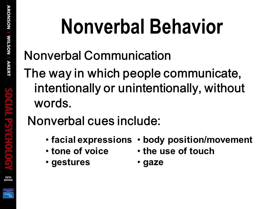 nonverbal behavior in business communication in Therefore, it is important for small business owners and managers to be aware of the nonverbal messages they send and to develop the skill of reading the nonverbal messages contained in the behavior of others there are three main elements of nonverbal communication: appearance, body language, and sounds.