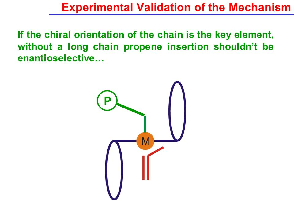 Experimental Validation of the Mechanism