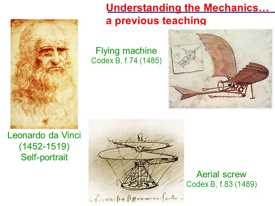 Understanding the Mechanics… a previous teaching