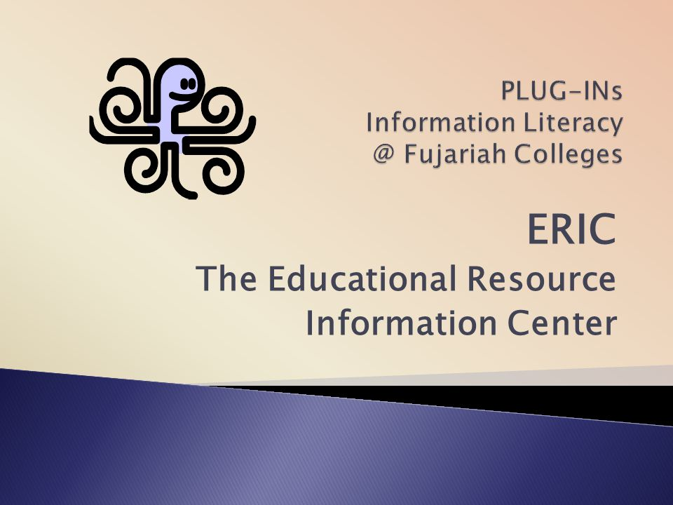 PLUG-INs Information Fujariah Colleges