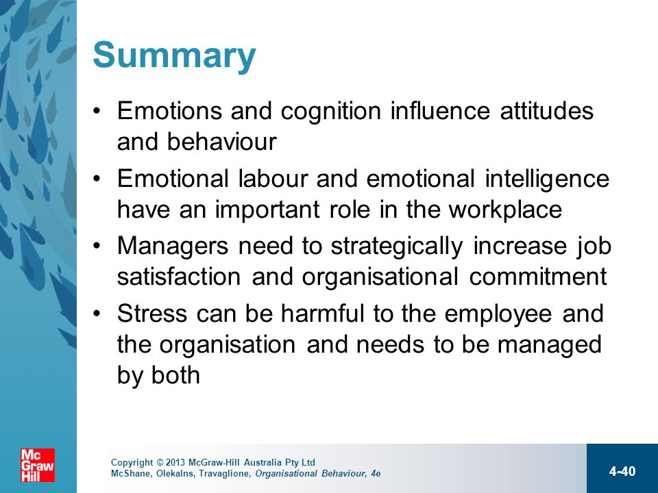 chapter 4 workplace emotions The online version of handbook of communication and emotion by peter a this important reference work is edited by top researchers in chapter 4 - strategic.