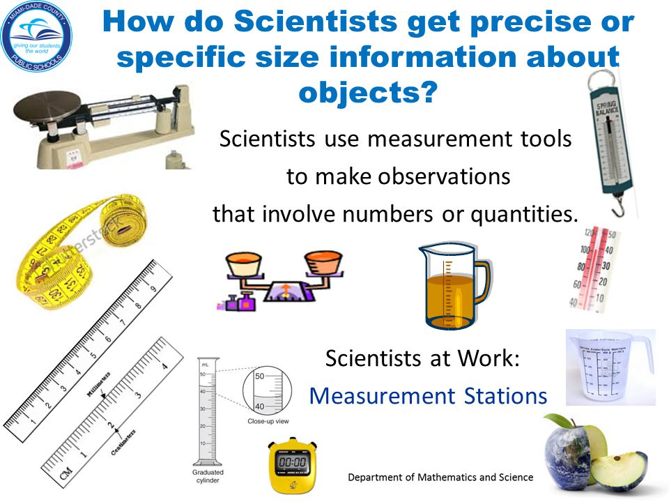 what tools do scientists use