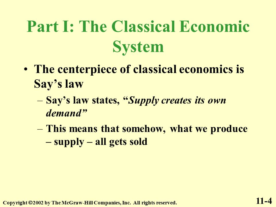 economics classical and keynesian These economic concepts include the keynesian theory and the classical  concept the goal of this essay to expand on the similarities between.