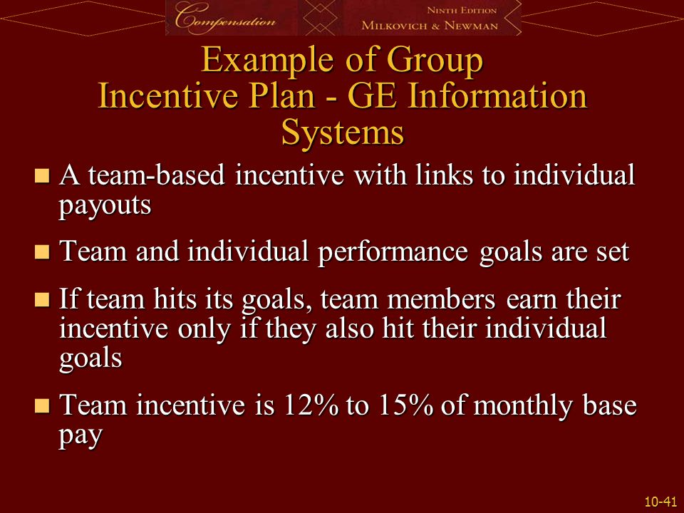 design and implement a pay for performance incentive So, whether you are implementing a pay-for-performance plan for the first time, or trying to improve the effectiveness of an existing plan, read more about how to properly design and execute a compensation system in my article written for the maryland association of certified public accountants monthly publication, statement.