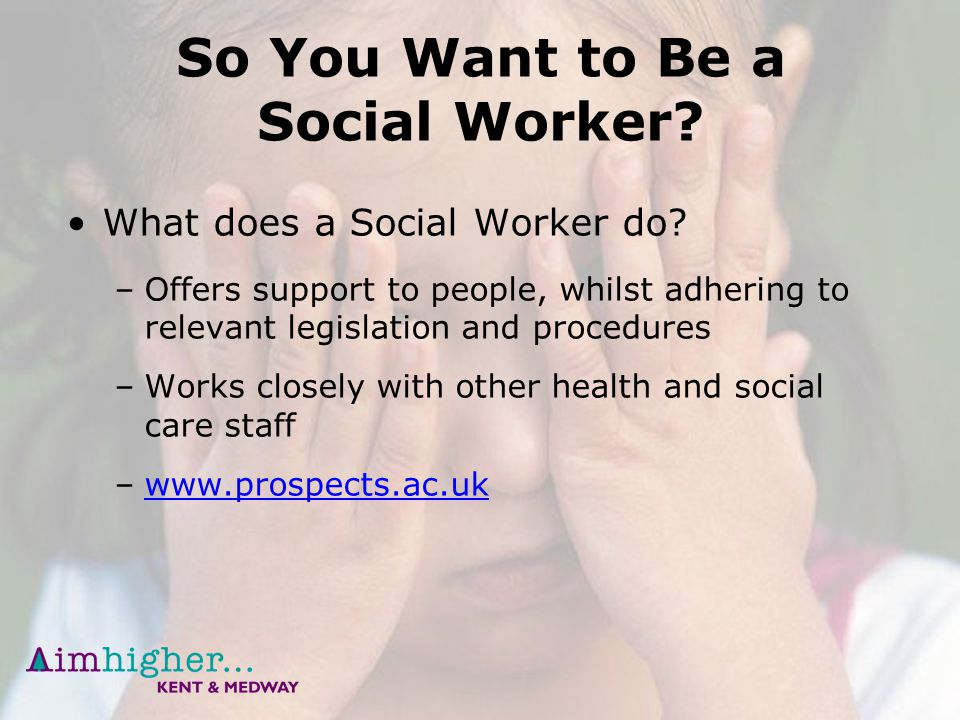 why do you want to be a social worker
