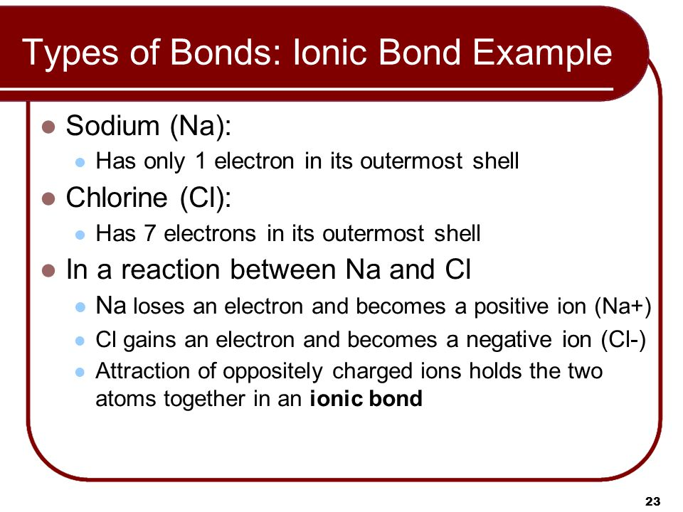 electrolytes ionic bond and sodium chloride The interaction of electrolytes with non-ionic  chloride ion activity is higher  since the interaction of electrolytes with non-ionic surfactants.