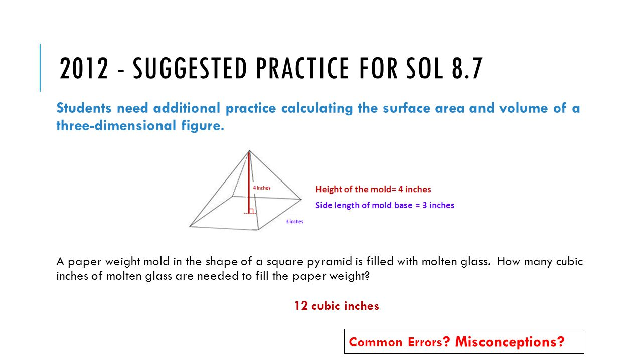 Scroll Down To Read : How To Find Surface Area And Volume Of A Square  Pyramid By John S C Abbott