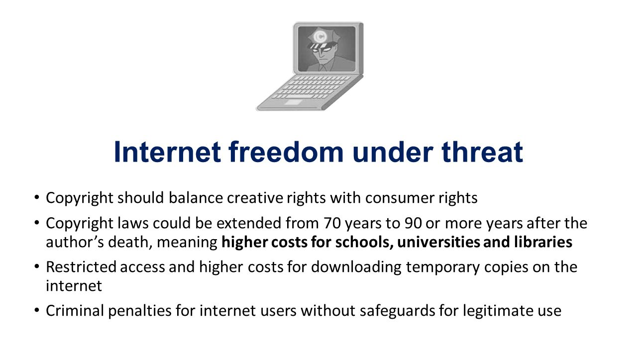 The Internet & copyright