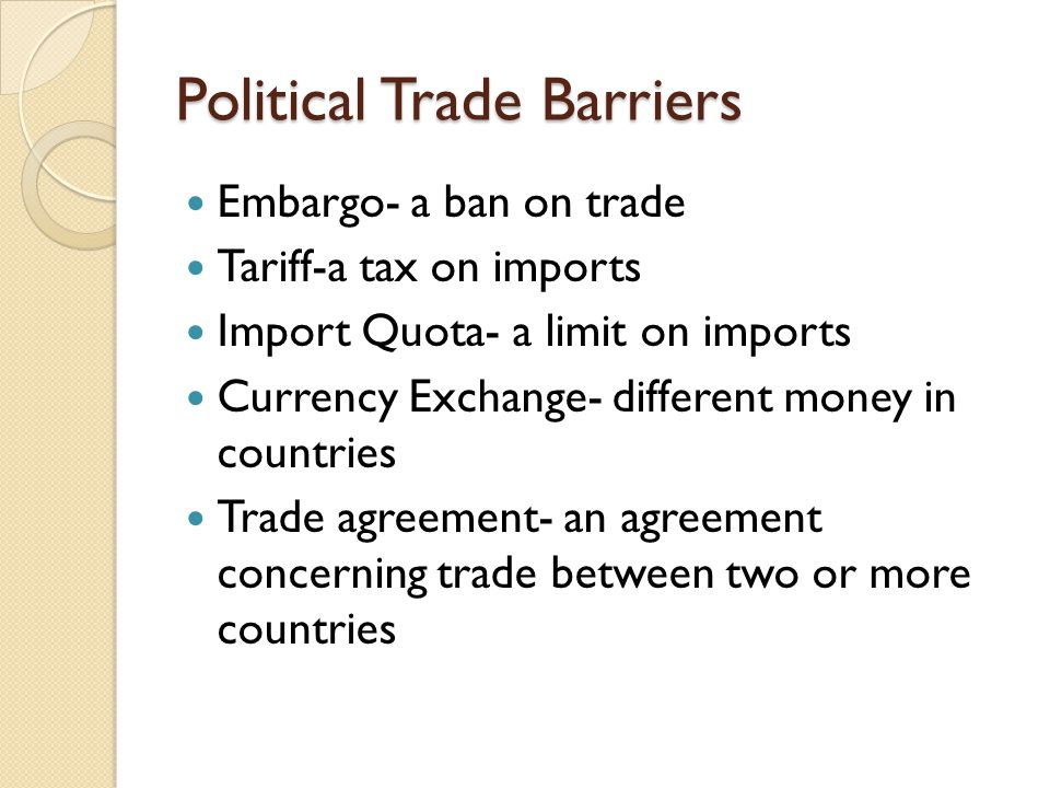 a discussion on trade agreements between nations Free trade agreements between developing and industrialized countries:   under the theory of comparative advantage, when a nation reduces barriers to a  trading partner, national  although theoretical models discussed in this paper.