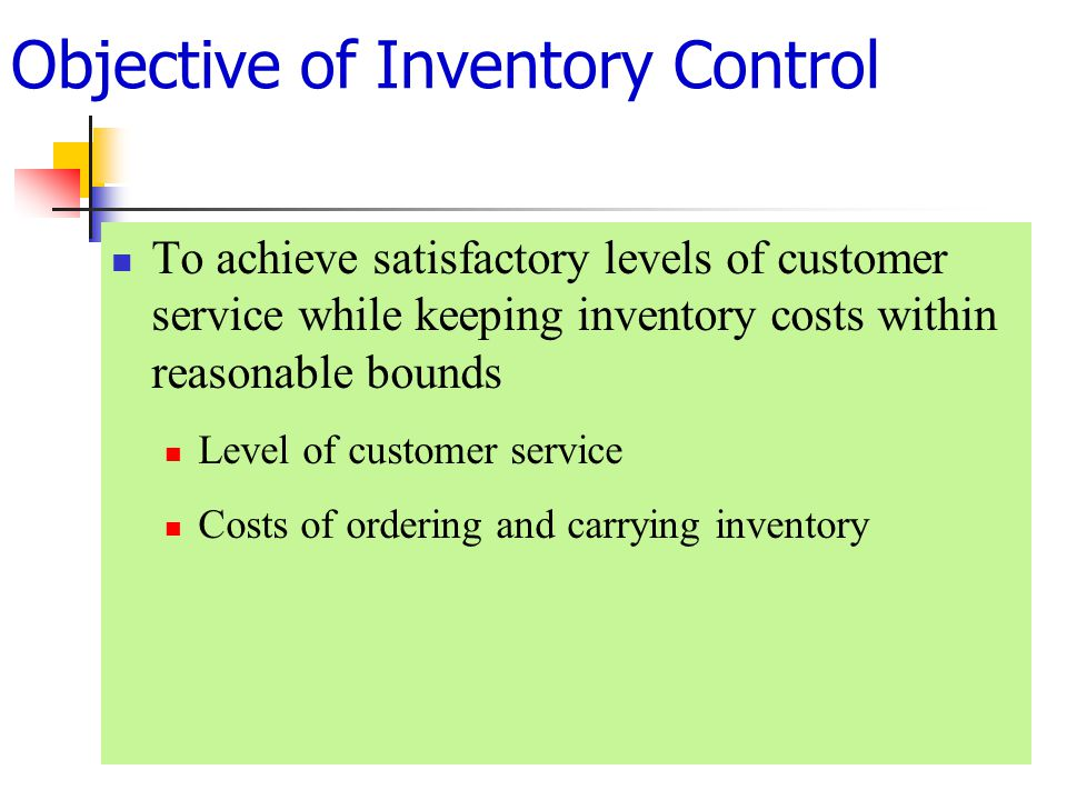 objective of online inventory systems 16082018 inventory management with practical example  what do we mean by inventory, objective etc  the jit inventory system complements the total quality.