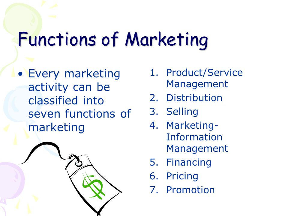 functions of marketing Because the purpose of business is to create and keep a customer, the business  enterprise has two--and only two--basic functions: marketing.
