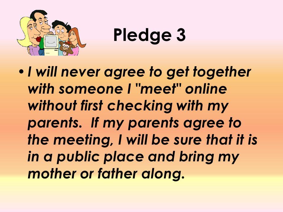 Pledge 3