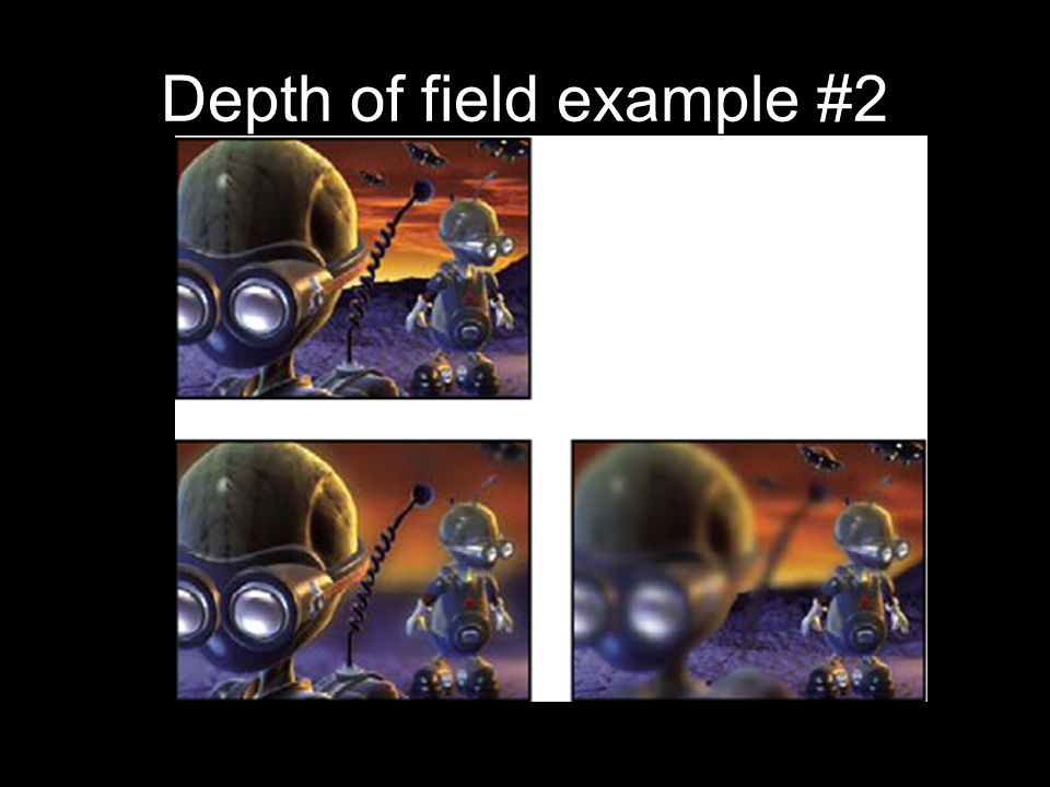 Depth of field example #2