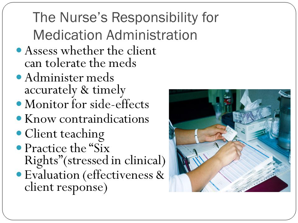 role of the nurse in safe administration of oral medication nursing essay Introduction this is a reflective essay based on an episode of care that i was directly involved in managing during a community placement this episode of care will be analysed using up to date references, health care policies and relevant models.