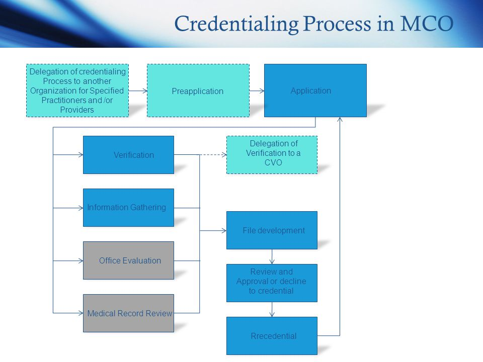 application to approval process type