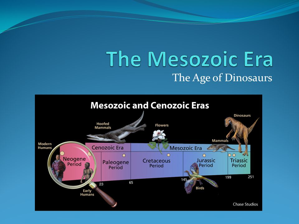 a history of the mesozoic era the age of dinosaurs