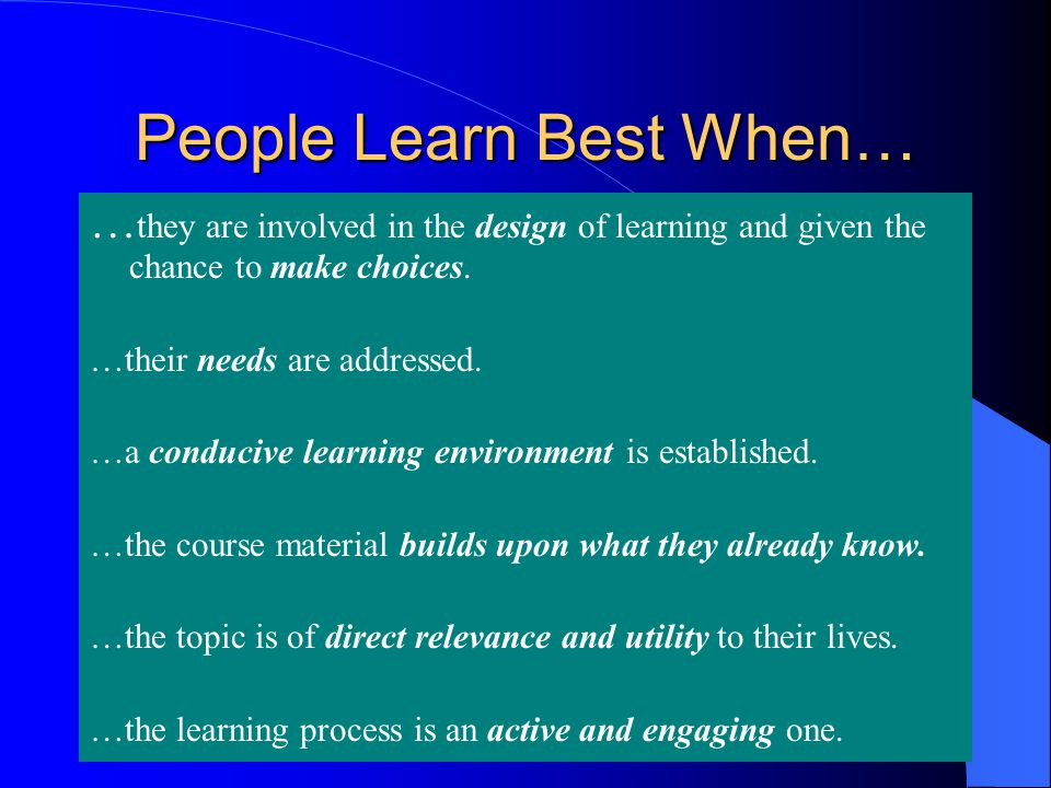 The Four Different Types of Learners, And What They Mean ...