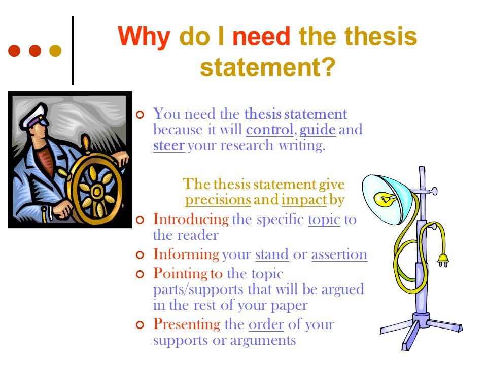 i need a thesis statement Get an answer for 'i need ideas for a thesis statement for my topic: challenges homeless students face that influence their attention span and how teachers can help' and find homework help for.