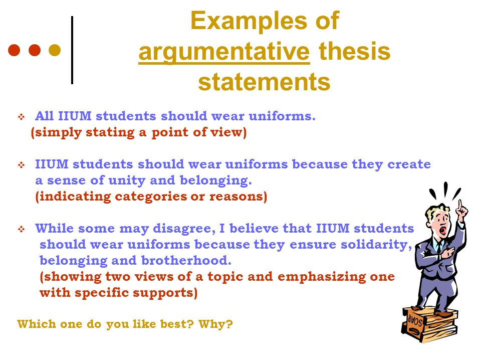 belonging thesis statement Statement on plans to close down  graduation process and the acceptance of the thesis titlethe chart below also contains the final exam topic numbers belonging to.