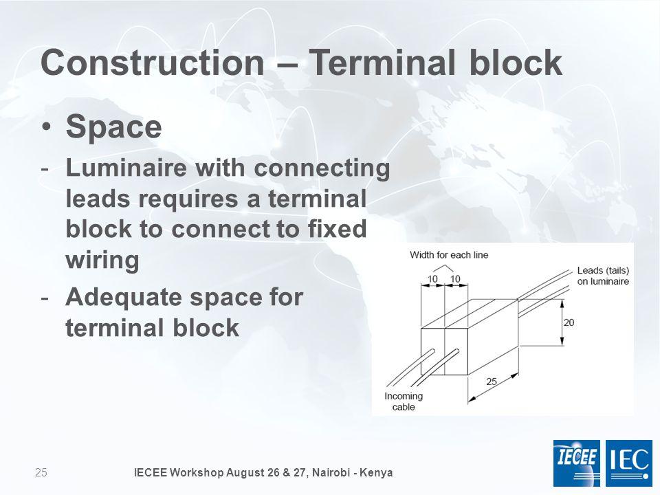 25 Construction u2013 Terminal block  sc 1 st  SlidePlayer : fixed wiring definition - yogabreezes.com