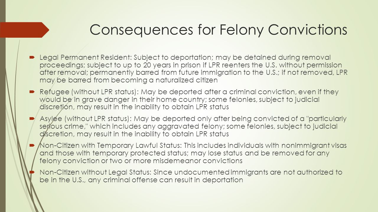 felony conviction A felony charge can mean a year to life in prison a nyc defense attorney explains what you need to do to reduce penalties or avoid conviction.