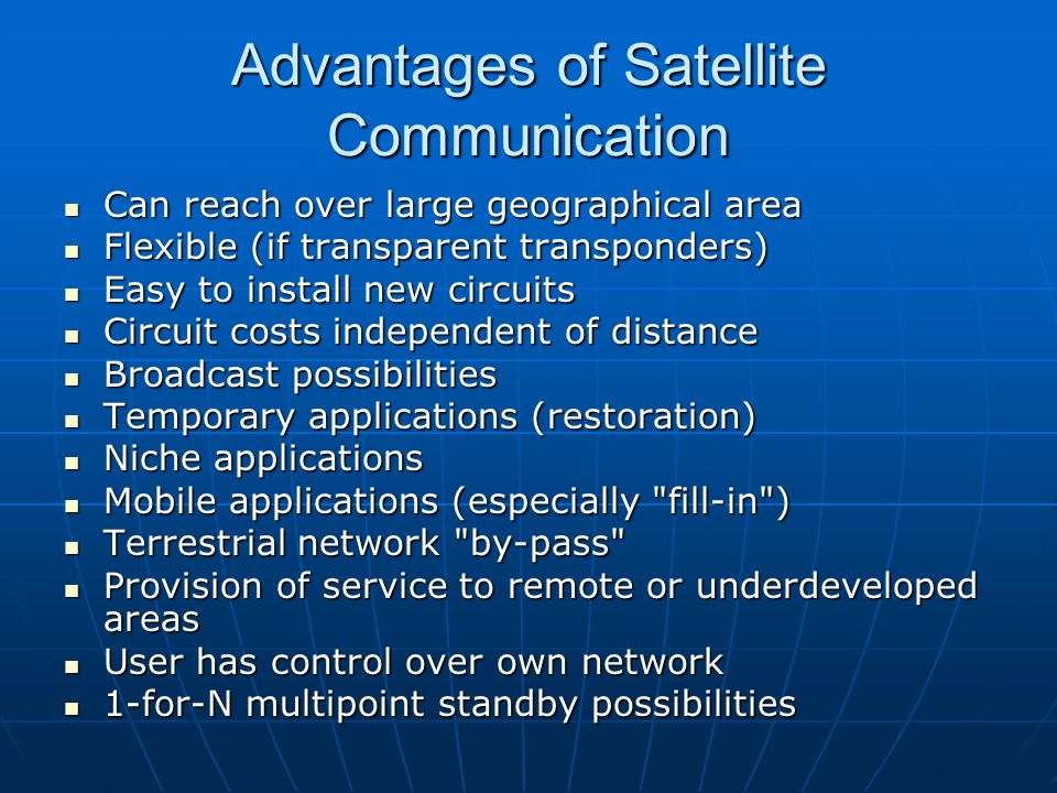 advantages of mobile communication Advantages and disadvantages of mobile phones: it doesn't take much of an imagination to come up with tons of advantages of having the internet at your.