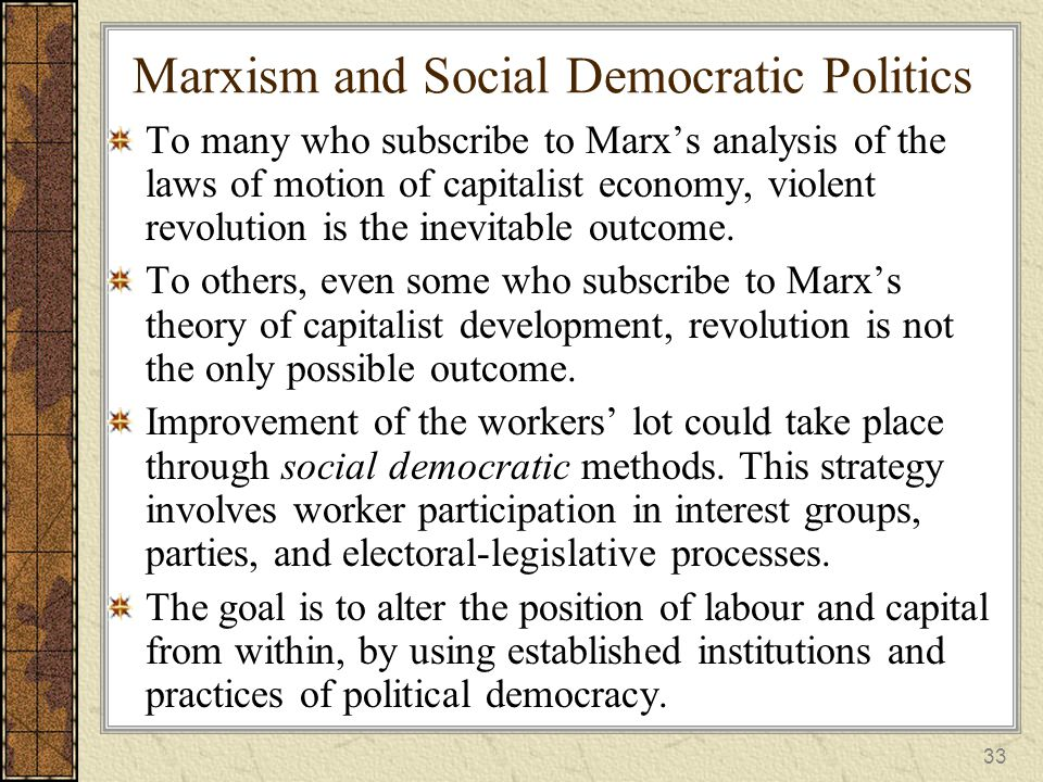 marxists analysis Karl marx was one of the most influential philosopher of all time and consequently his work has influenced a lot of films the spectator faces marxist problems such as: proletariat conditions, bourgeoisie dominance, the evolving technology and its connection to society, and revolution every problem.