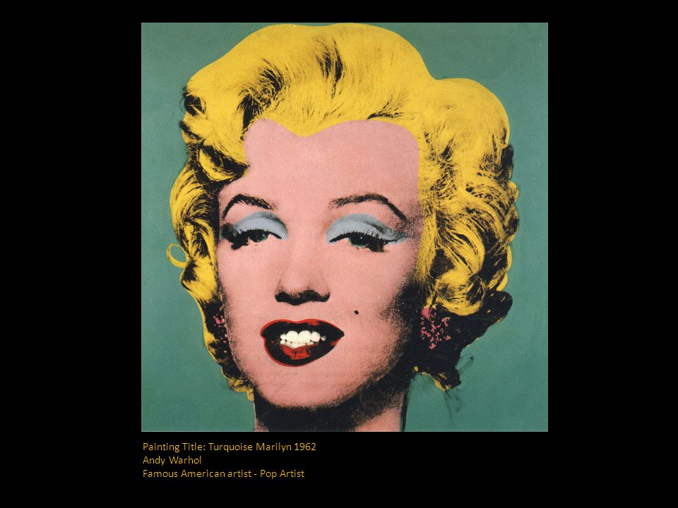 andy warhol and his painting marilyns essay Andy warhol essay contains all information about the creation of artist and his impact on development of pop art.