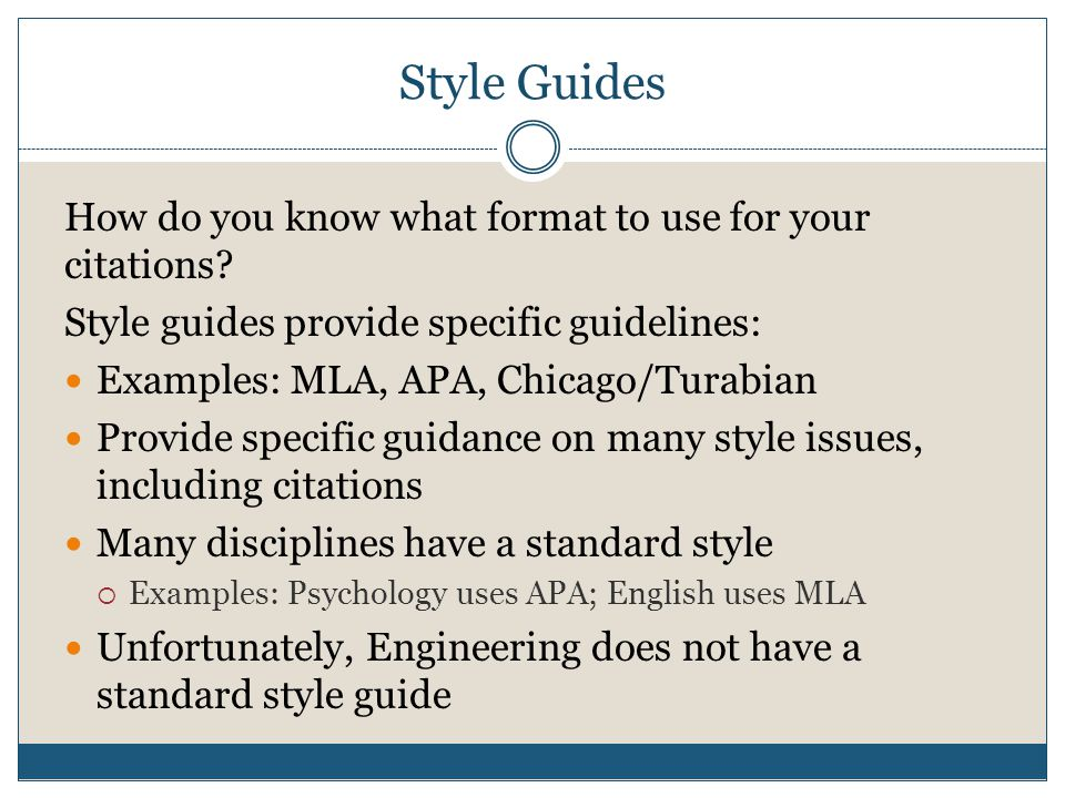 turabian style citation generator Chicago/turabian basics: footnotes why we use footnotes the style of chicago/turabian we use requires footnotes rather than in-text or parenthetical citations.
