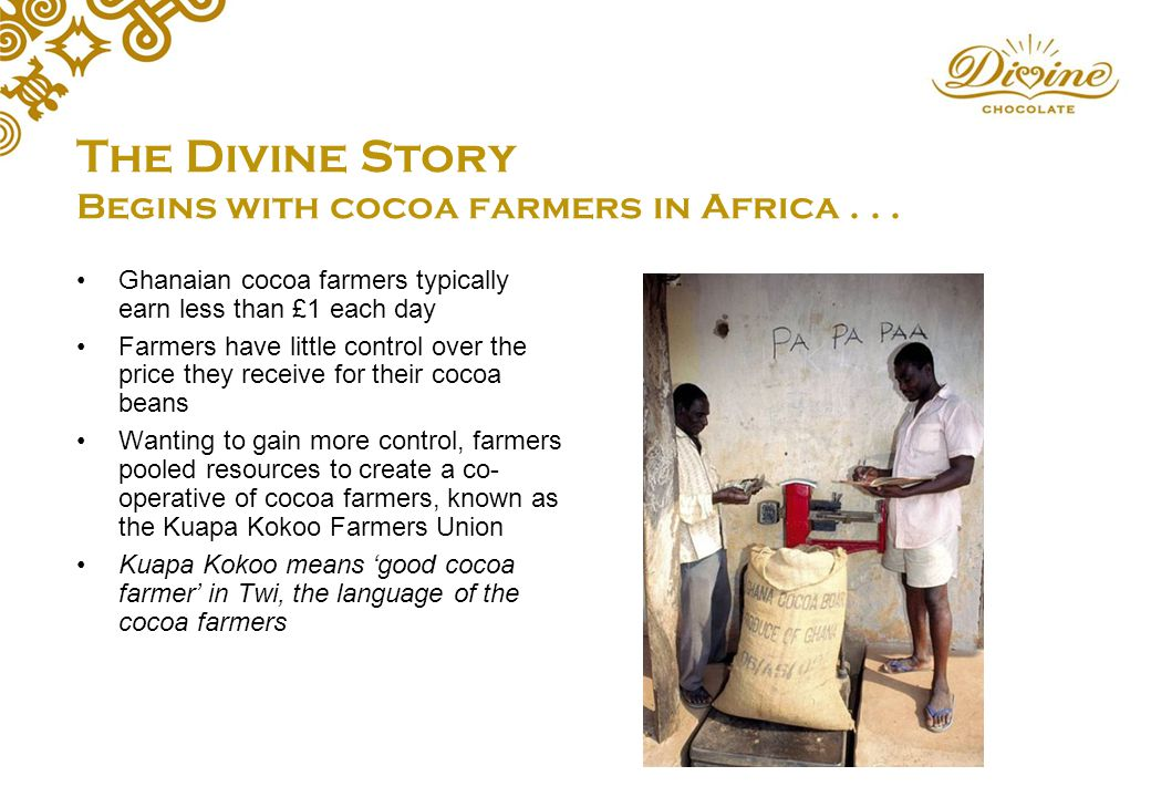Divine Chocolate: A Fairtrade company co-owned by cocoa ...