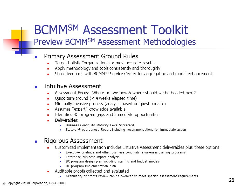 Business Continuity Maturity ModelSM - ppt video online download