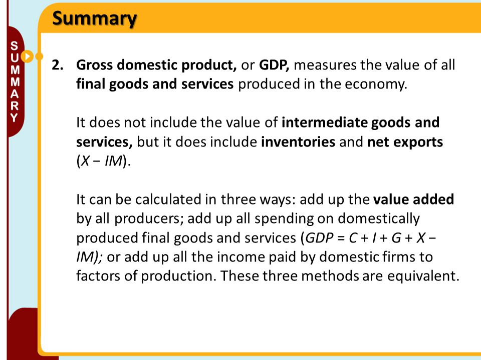 GDP and the CPI: Tracking the Macroeconomy - ppt video online download