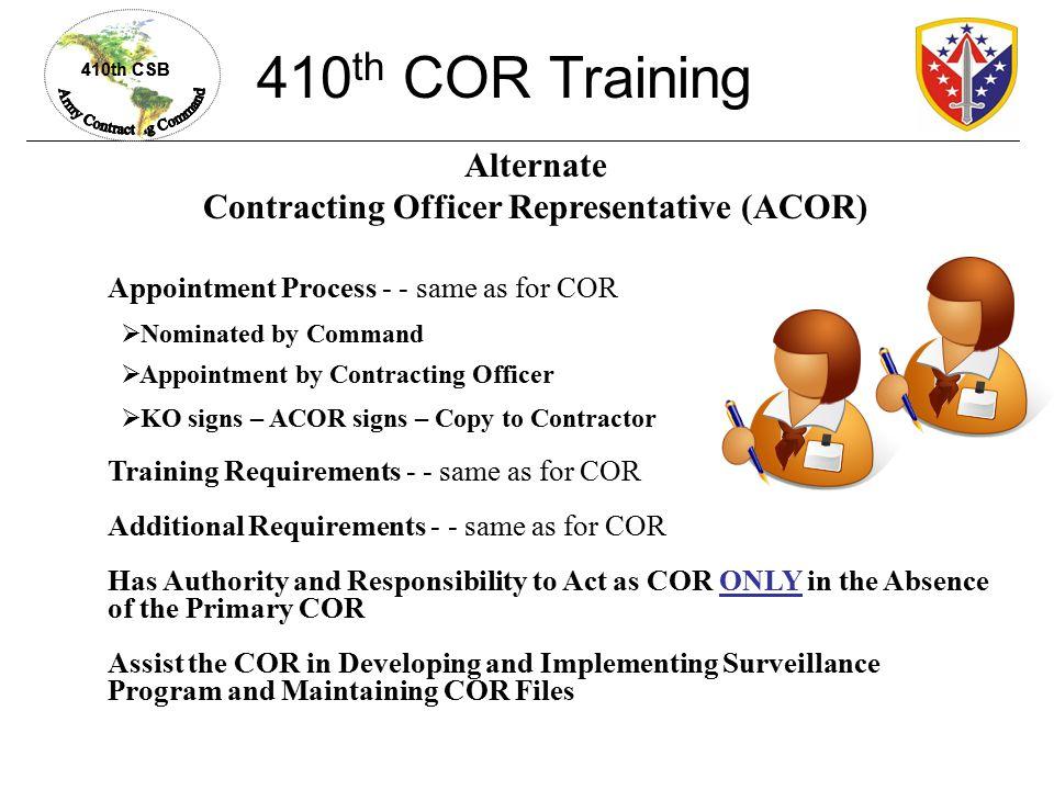 commander authority over contractors