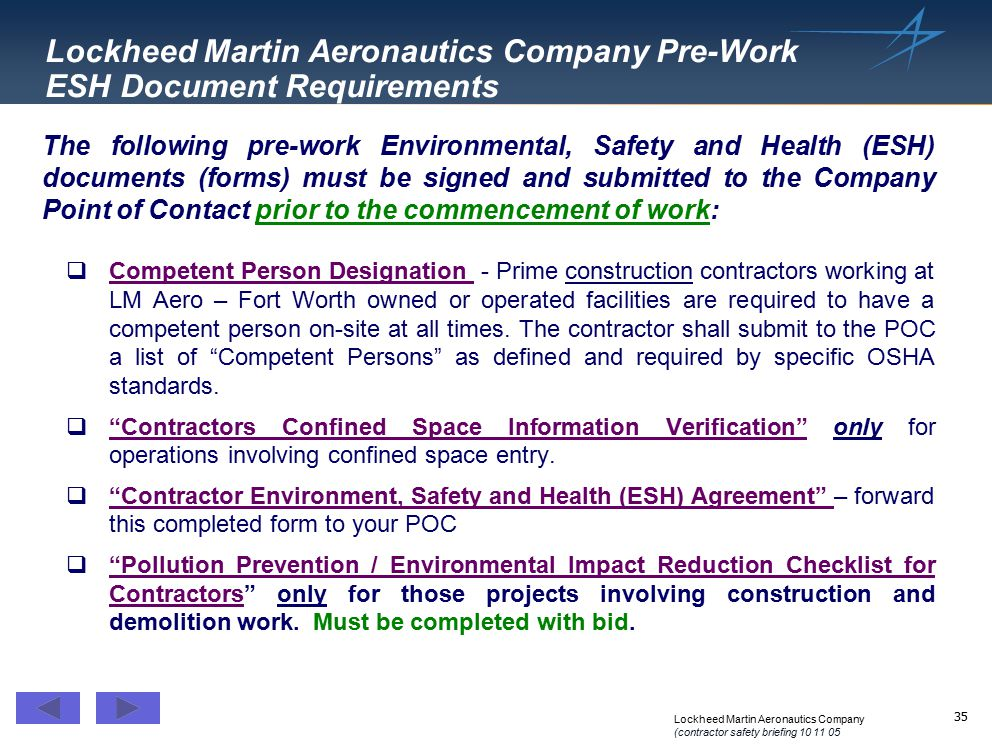 Environment Safety & Health (ESH) - ppt download